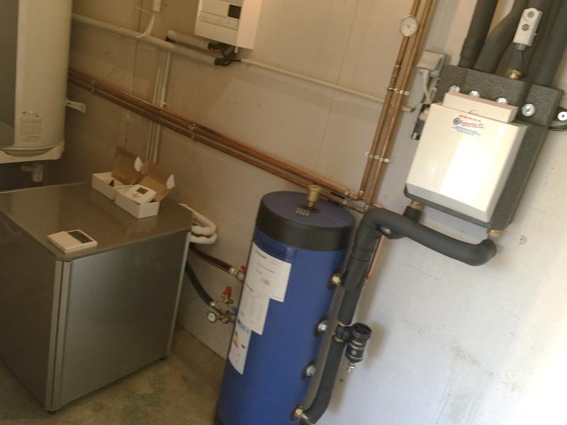 Installation d'une pompe à chaleur par Techniclim 21