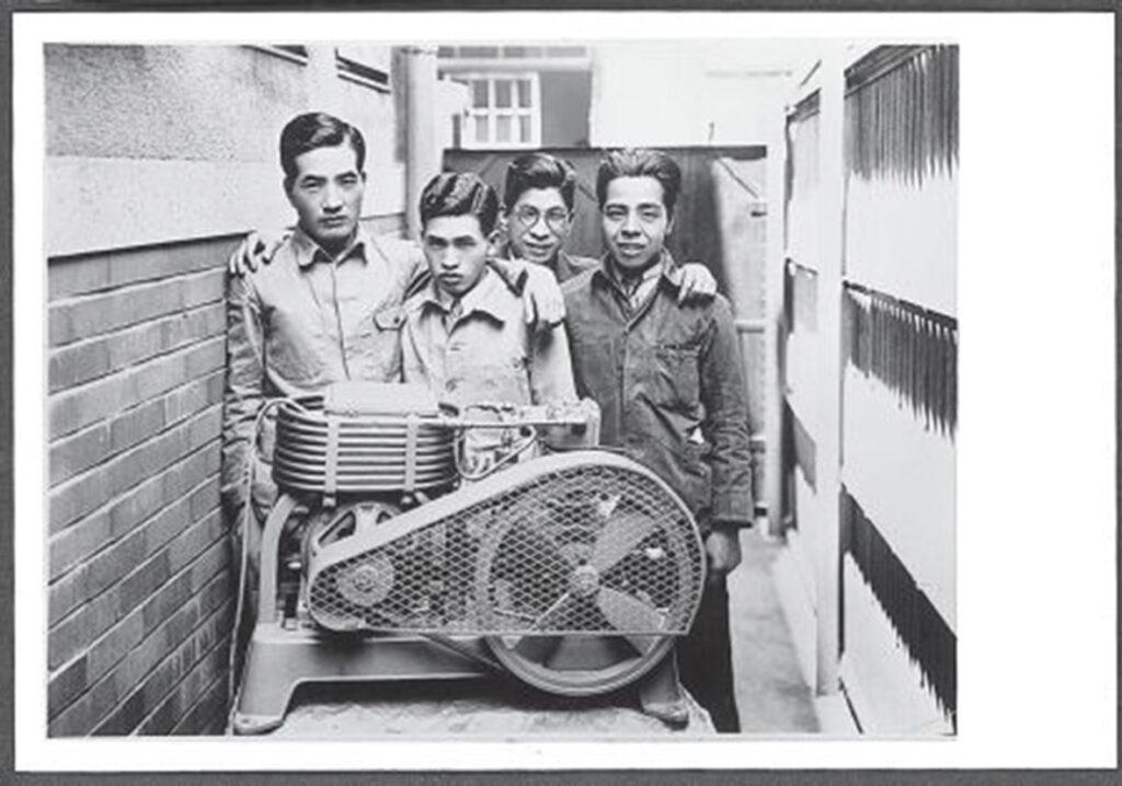 Prototype du premier réfrigérateur DAIKIN en 1934