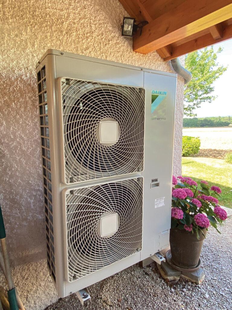 Groupe extérieur DAIKIN ALTHERMA Air/Eau Haute température 100% Thermodynamique