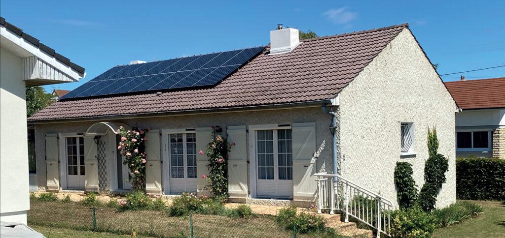 Installation panneau photovoltaïque à Fixin
