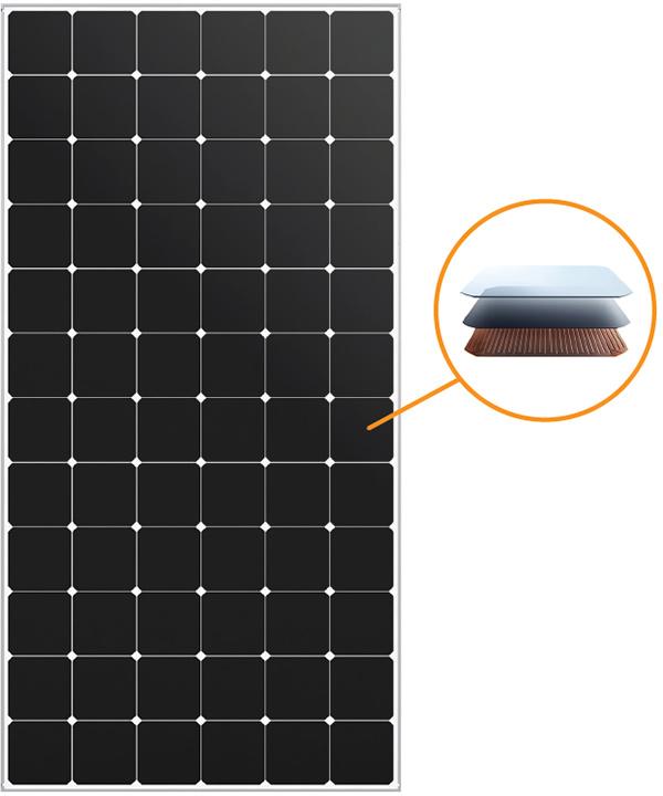 Panneau photovoltaïque SUNPOWER