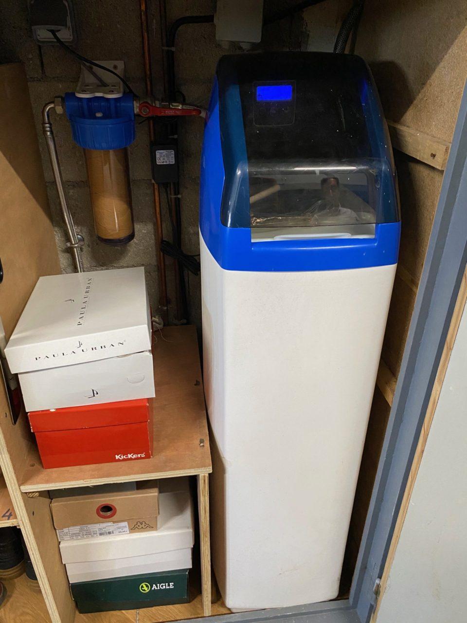 Installation d'un adoucisseur d'eau par Techniclim 21